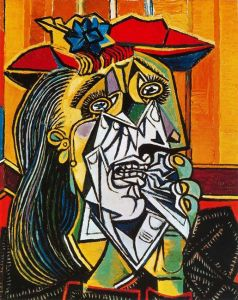 picasso-weping woman