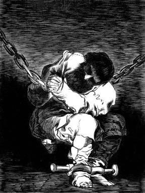 Goya-The prisoner