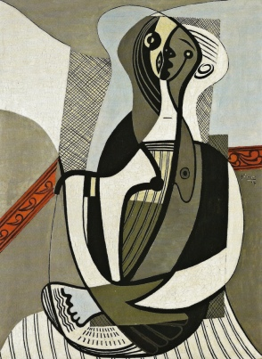 Pablo Picasso - Seated Woman, 1927 at Art Gallery of Ontario - Toronto Canada